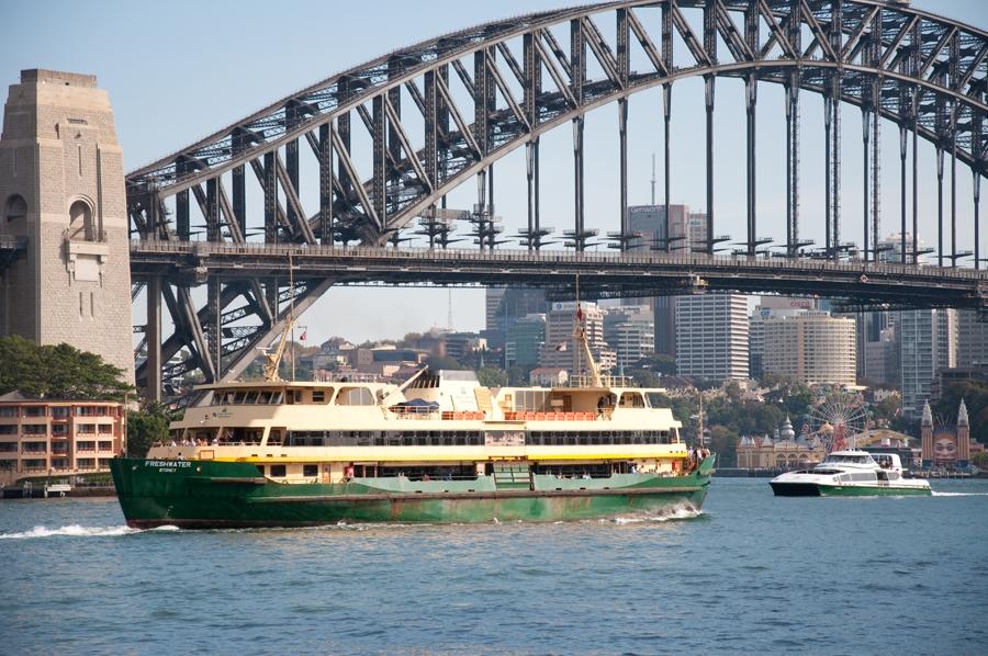 Sydney Harbour Bridge & Luna Park