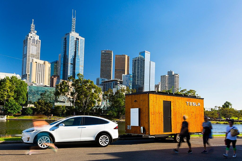 Tesla Tiny House to visit Manly Wharf and North Sydney