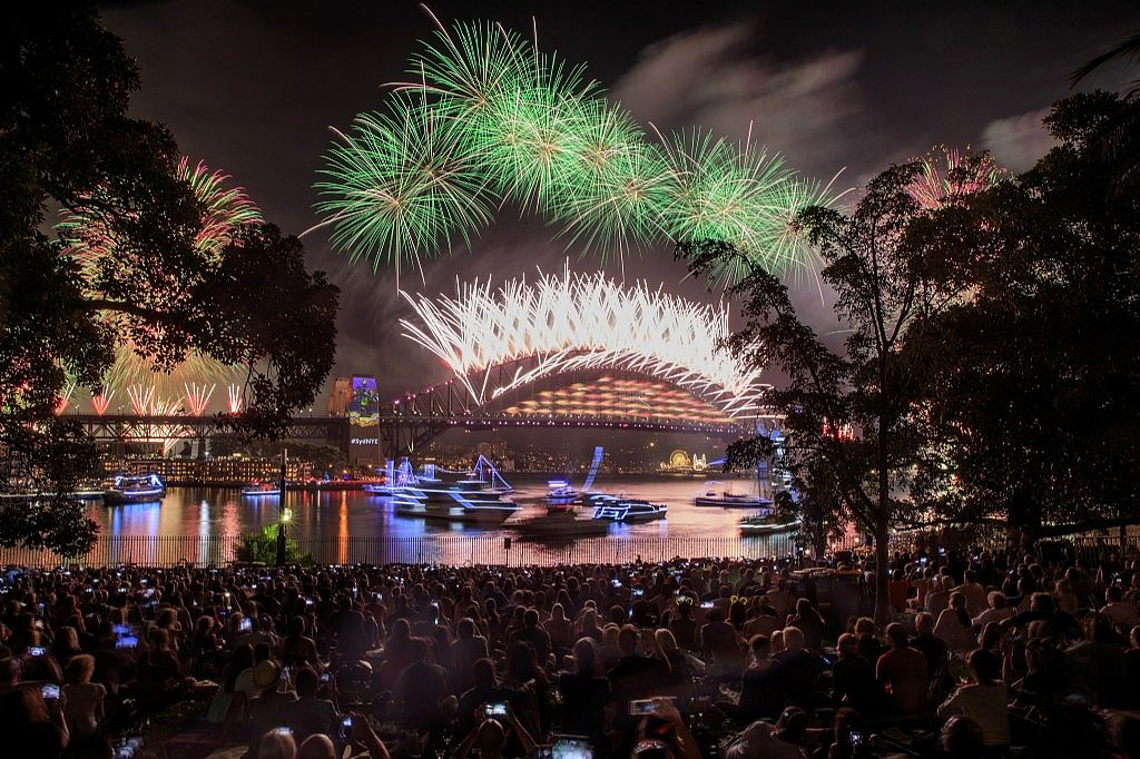 Five Fabulous New Year's Eve Events at The Royal Botanic Garden Sydney and Domain