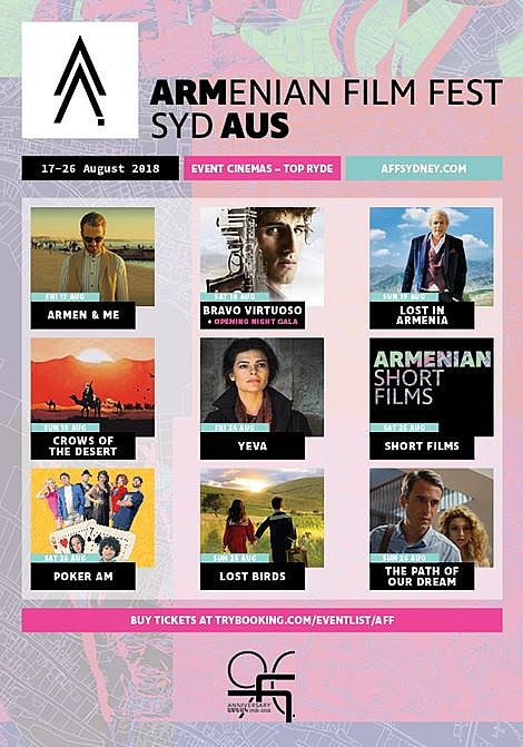 Armenian Film Festival Sydney Returns