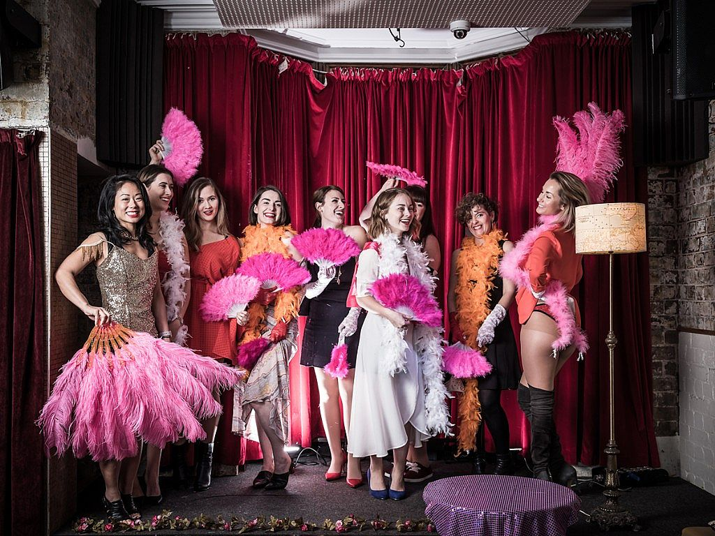 Sparkle Burlesque Launch Party