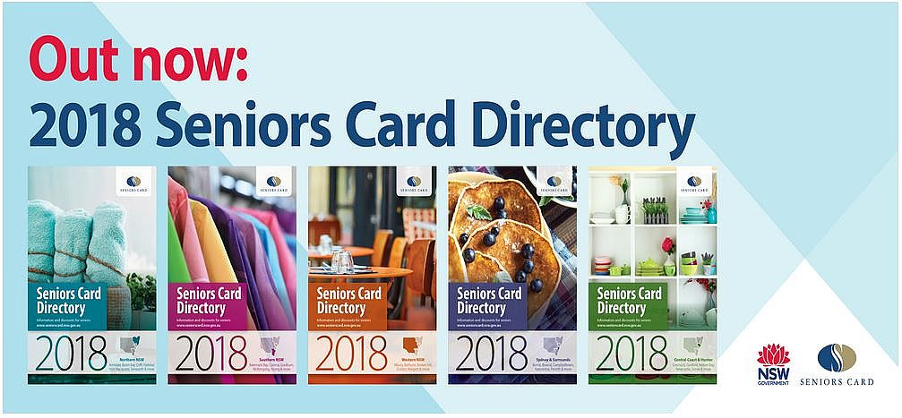 Out Now: 2018 Seniors Card Directory