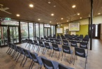 Conference facilities with garden views
