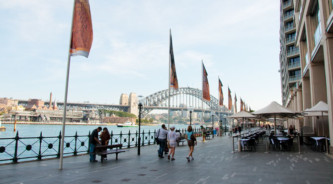Circular quay sydney australia highlights experience for Experiential design sydney